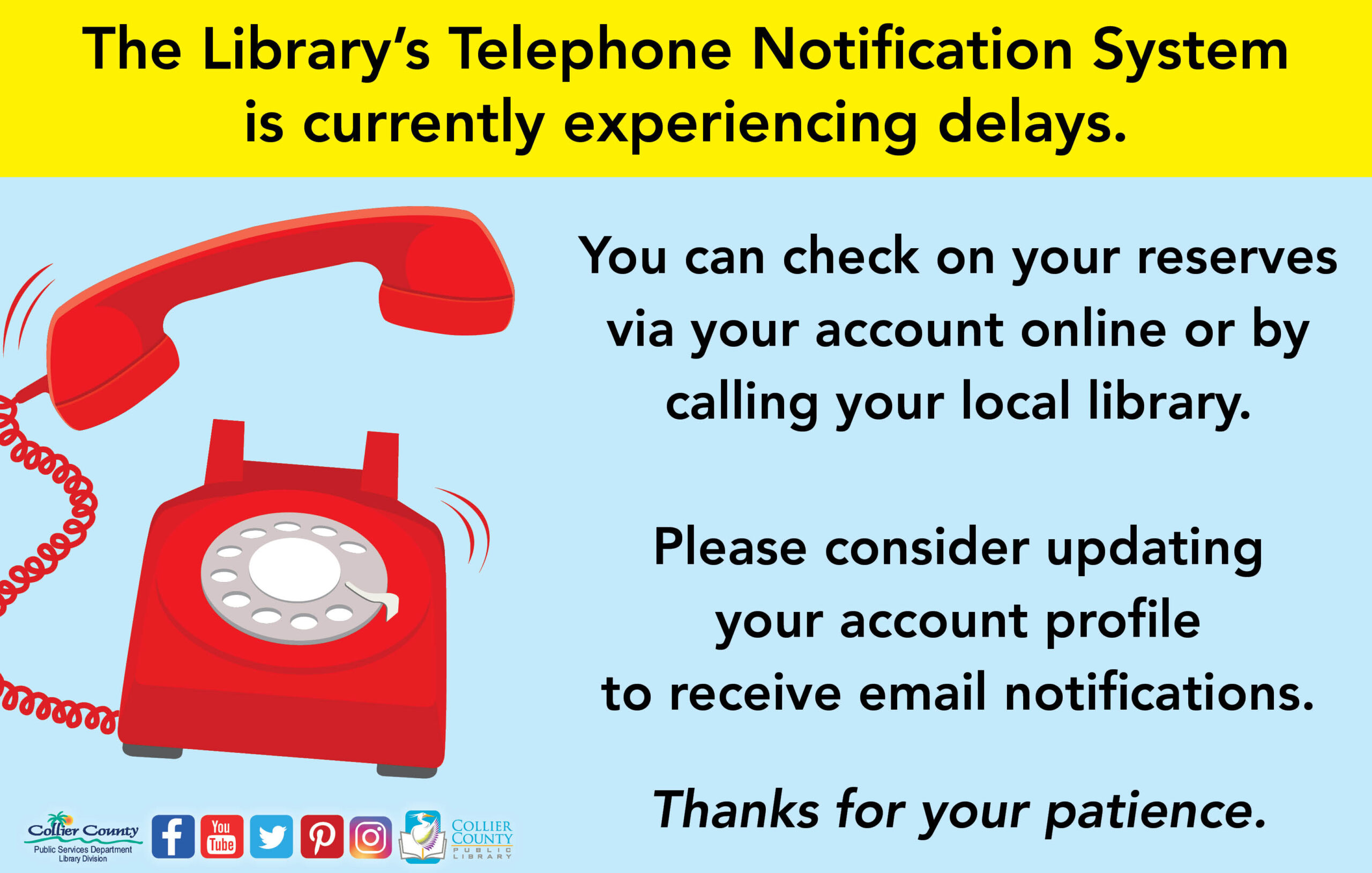 Library Phone Notification System